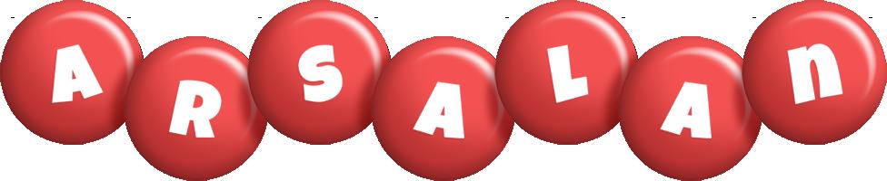 Arsalan candy-red logo
