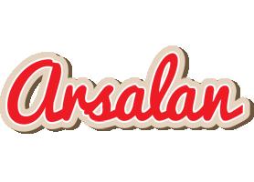 Arsalan chocolate logo