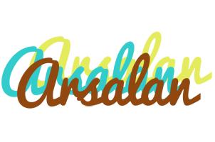 Arsalan cupcake logo