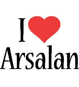 Arsalan i-love logo