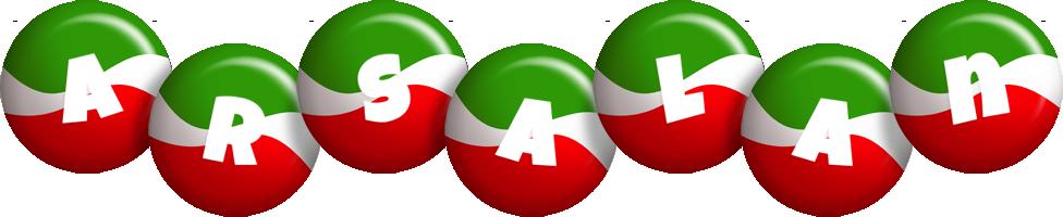Arsalan italy logo