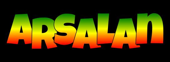 Arsalan mango logo