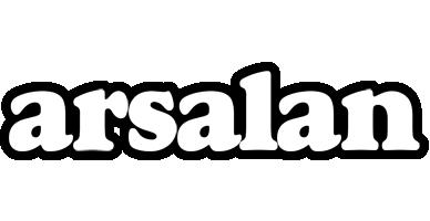 Arsalan panda logo