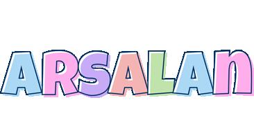 Arsalan pastel logo