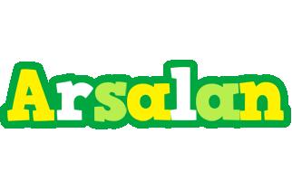 Arsalan soccer logo