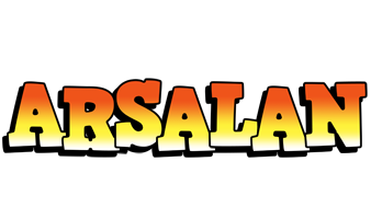 Arsalan sunset logo