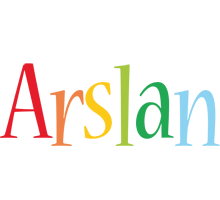 Arslan birthday logo