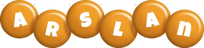 Arslan candy-orange logo