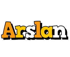 Arslan cartoon logo