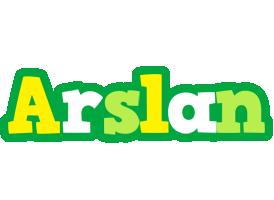 Arslan soccer logo