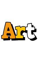 Art cartoon logo