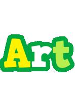 Art soccer logo