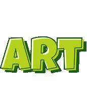 Art summer logo