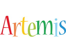 Artemis birthday logo