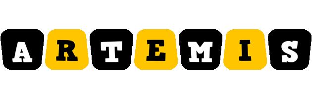 Artemis boots logo