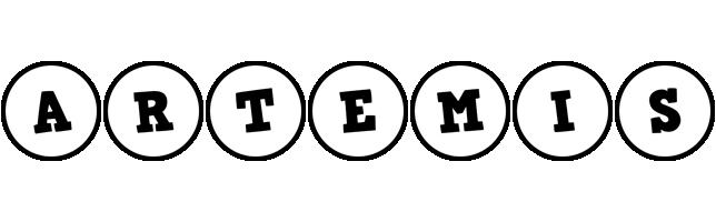 Artemis handy logo
