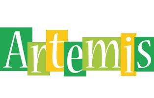 Artemis lemonade logo