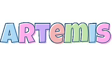 Artemis pastel logo