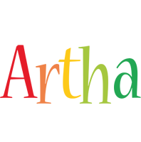 Artha birthday logo