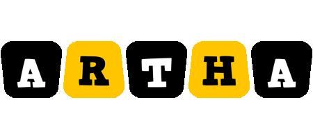 Artha boots logo