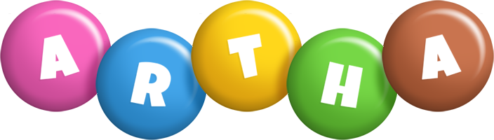 Artha candy logo