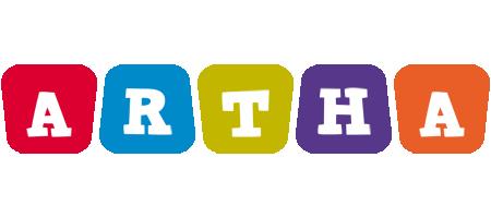 Artha daycare logo