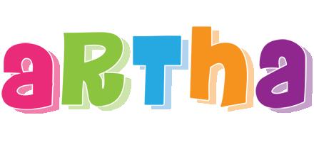 Artha friday logo