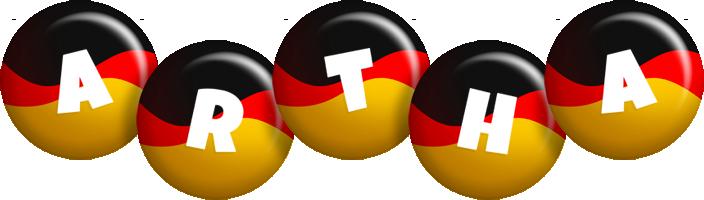 Artha german logo