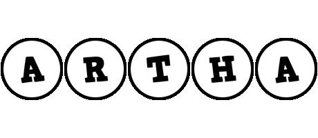 Artha handy logo