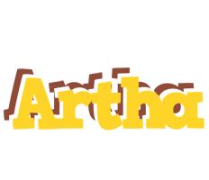 Artha hotcup logo