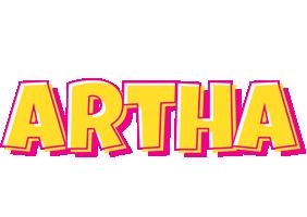 Artha kaboom logo