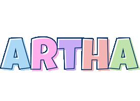 Artha pastel logo