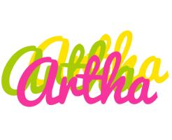 Artha sweets logo