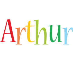 Arthur birthday logo
