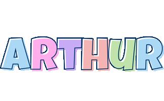Arthur pastel logo