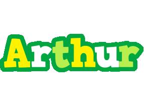 Arthur soccer logo