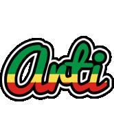 Arti african logo