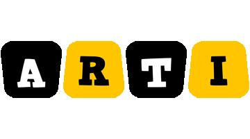 Arti boots logo