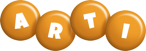 Arti candy-orange logo