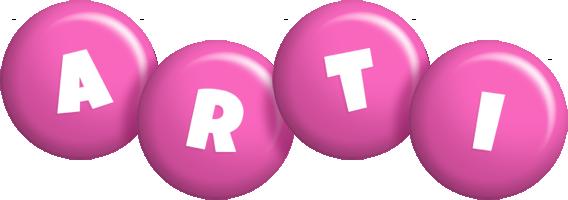 Arti candy-pink logo