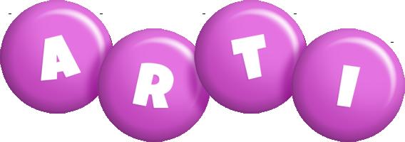 Arti candy-purple logo