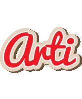 Arti chocolate logo