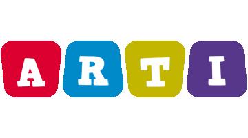 Arti daycare logo