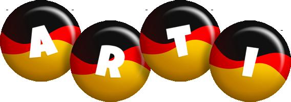 Arti german logo