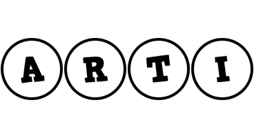 Arti handy logo