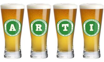 Arti lager logo