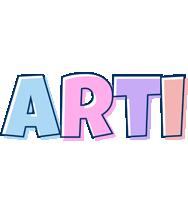 Arti pastel logo