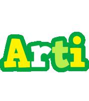 Arti soccer logo