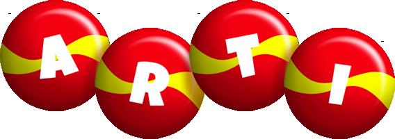 Arti spain logo