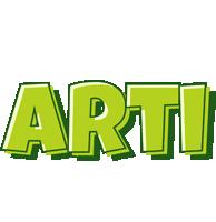 Arti summer logo